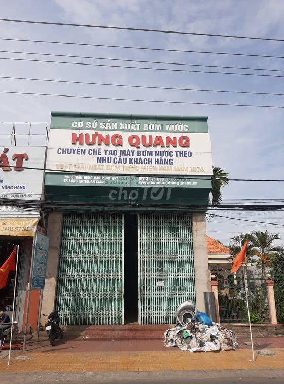 Chính chủ cho thuê mặt bằng mặt tiền đường Trần Hưng Đạo (QL91), Thành phố Long Xuyên