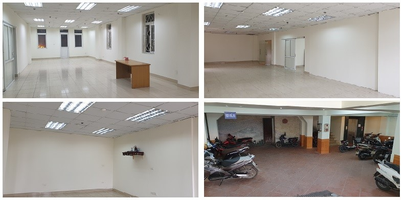 Cho thuê văn phòng tầng 4 mặt đường Xã Đàn, Đống Đa 0913239846