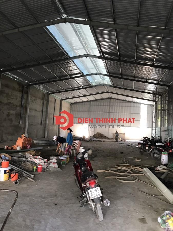 Kho xưởng mới xây dựng100% đường hương lộ 2 mã Lò,ao đôi cho thuê (160m-200m-300m) Bình Tân