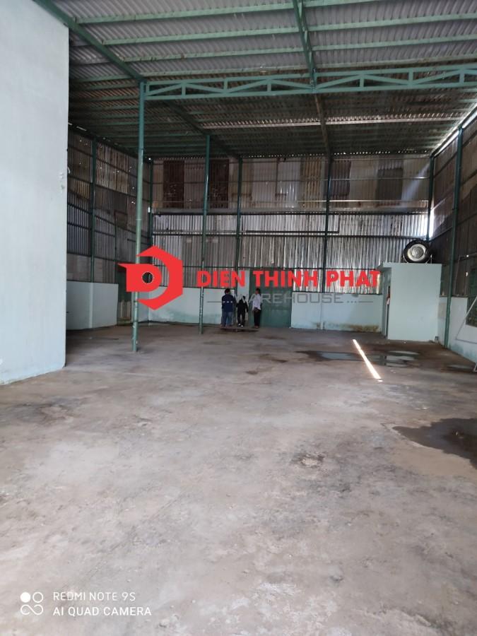 cho thuê nhà xưởng đường Phan Anh quận Bình Tân 300m giá 24TR