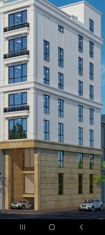 Bán gấp toà nhà 9 tầng lô góc mặt phố Tô Vĩnh Diện_Hoàng Văn Thái. Giá 33tỷ