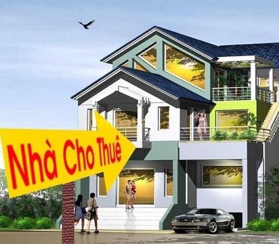 Cho thuê nhà 4 Tầng đường Thái Thị Bôi, DT 100m2, giá 13 triệu