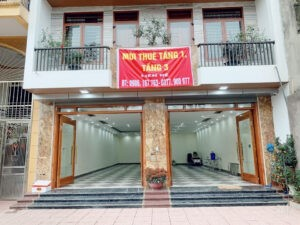 Cho thuê tầng 1 cổng phụ BỆNH VIỆN QUỐC TẾ SN63AP.Đồng Quang, Thái nguyên, 0377900977
