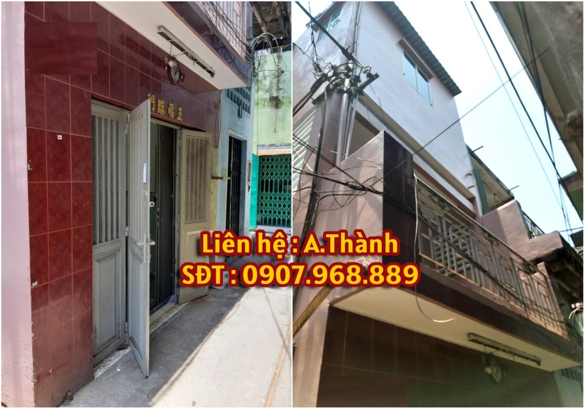Nhà cho thuê 3m2 x 9m,1 trệt, 2 lầu Phạm Văn Chí , Phường 3  ,Quận 6