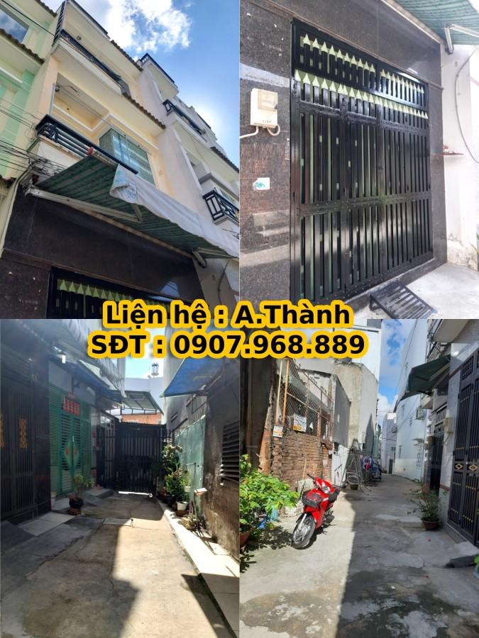 Nhà cho thuê mới đẹp 3m8 x 12m, 1 trệt , 2 lầu , An Dương Vương , Phường 16 ,Quận 8