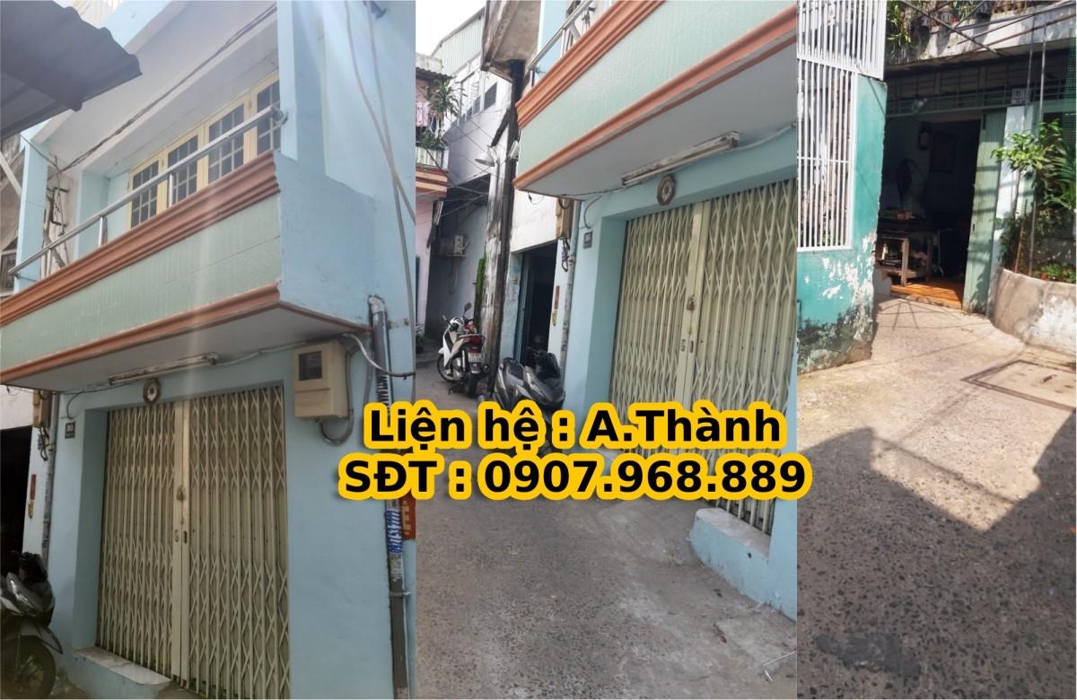 Nhà cho thuê 3m5 x 15m, 1 trệt , 1 lửng , 1 lầu , Bình Tiên , Phường 4 ,Quận 6