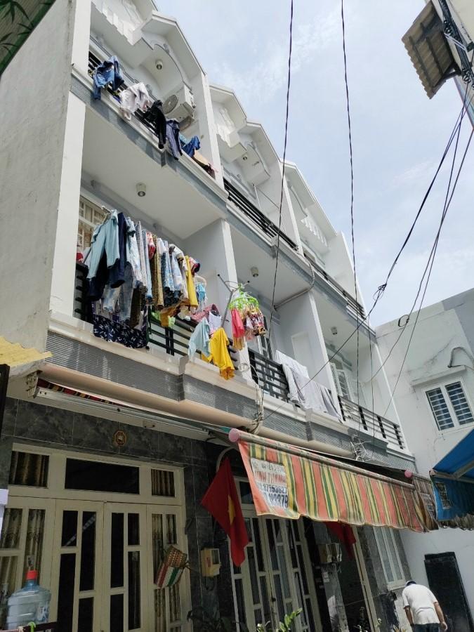 Bán nhà 2 lầu 4PN -Hẻm 2020 Huỳnh Tấn Phát,Thị trấn Nhà Bè-Giá 1,98 tỷ
