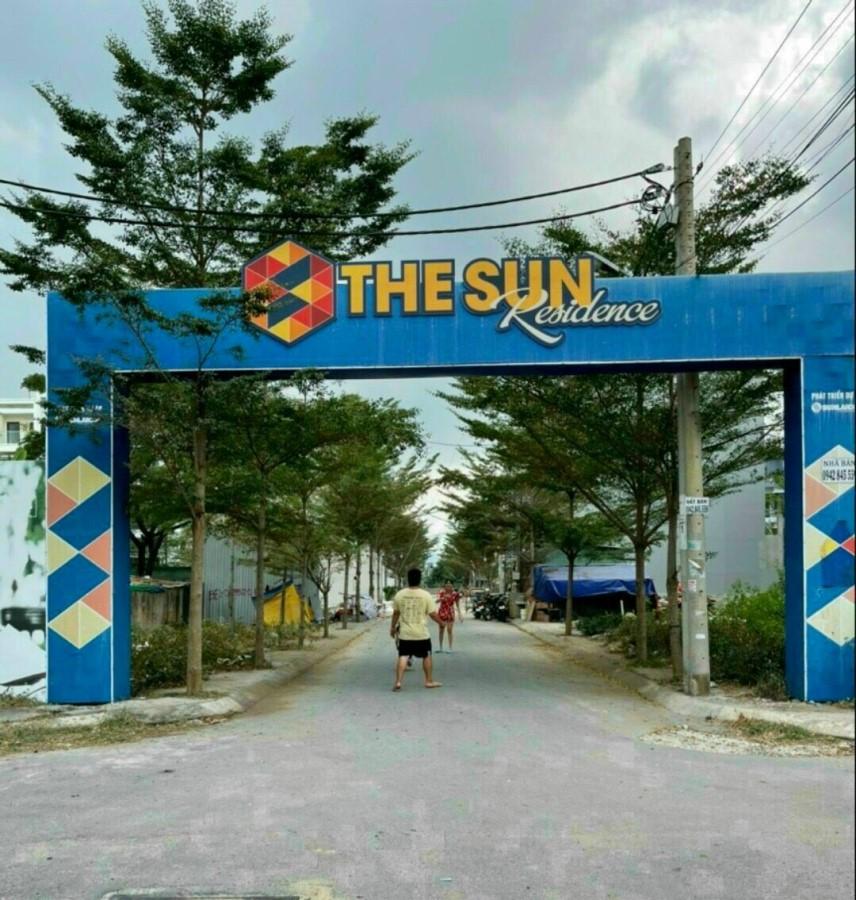 Bán lô đất khu dân cư sài gòn mới THE SUN RESIDEN đường Huỳnh Tấn Phát, kp7, thị trấn Nhà Bè