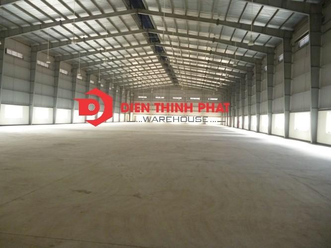 Cho thuê kho xưởng (1.600m2)72 tr/tháng Huyện Bình Chánh ( gần đường Vườn Thơm)