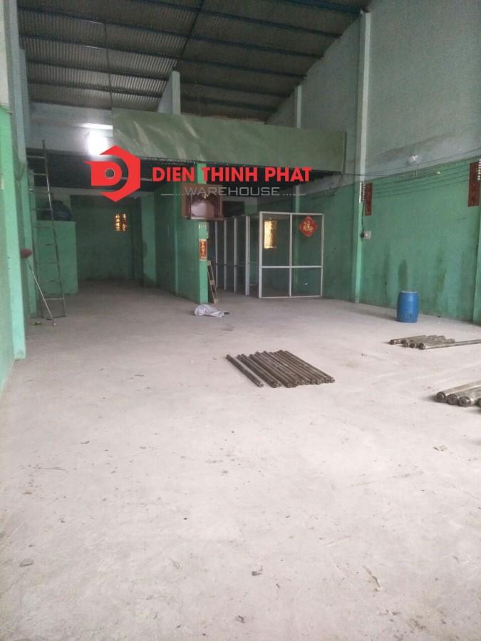 Cho thuê nhà xưởng đường Bình Trị Đông quận Bình Tân(250m2)