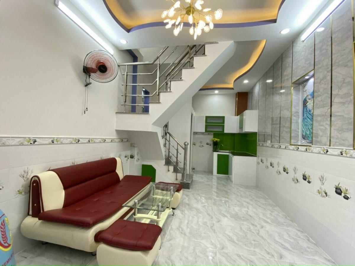 Bán nhà nhỏ mà xinh-Địa chỉ 2174/21 Huỳnh Tấn Phát,Nhà Bè 2PN giá 1,55 tỷ