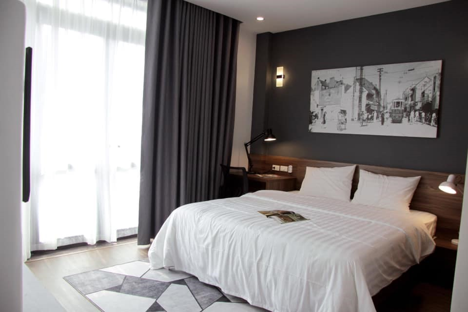 Cho thuê ngay nhà 3 tầng mới nguyên full nội thất tại Từ Sơn. LH 0963207603