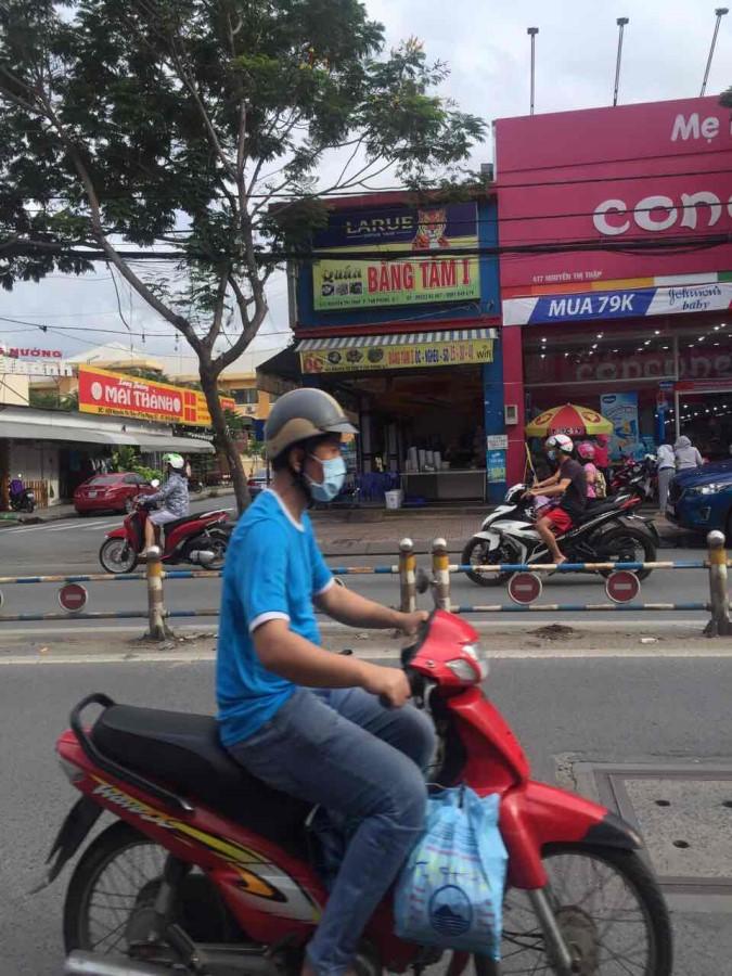 Bán Nhà Mặt Tiền Đường Lê Văn Lương Quận 7. dt 5x27m nở hậu 6m