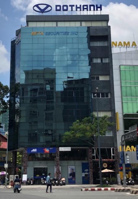 Cho thuê sàn văn phòng mt Hàm Nghi, Quận 1