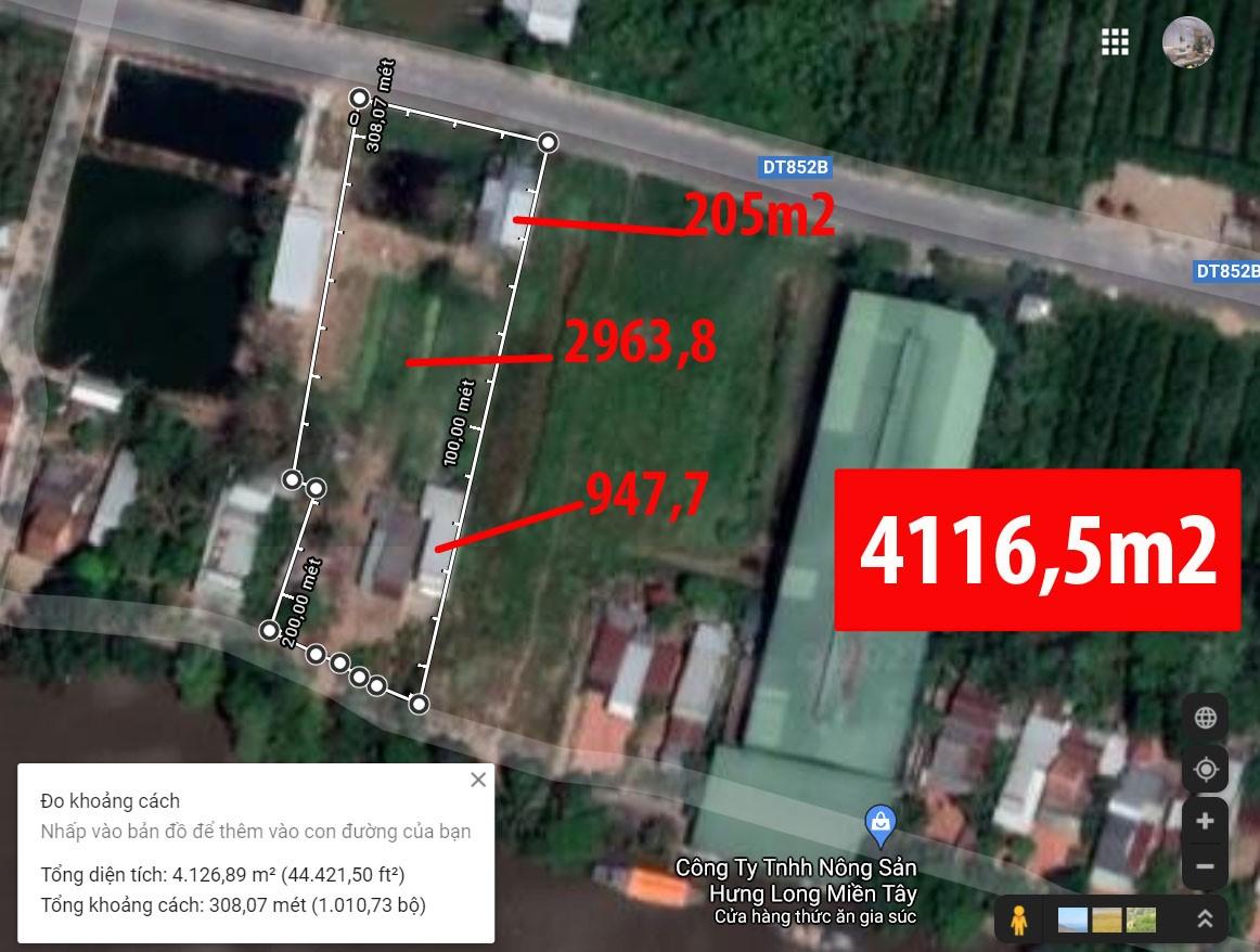 Cần bán gấp nhà và đất rộng 3000m2. Đường nhựa 16m