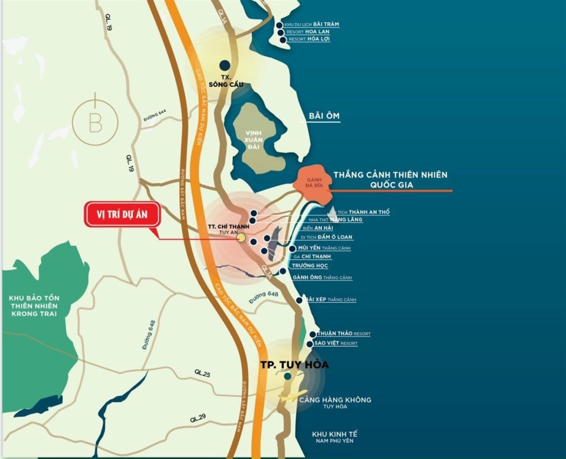 [Siêu hot] Đất nền ven biển Phú Yên - KDC Đồng Đèo sắp ra mắt