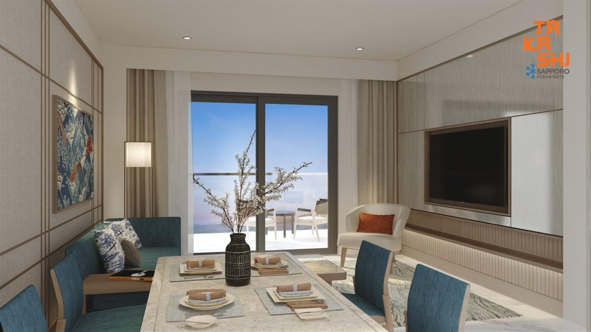 đầu tư căn hộ biển gần CASINO với giá chỉ 1 tỷ 390