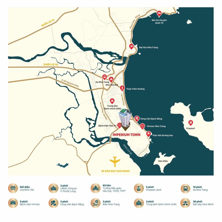 Sở hữu căn hộ đẳng cấp tại Nha Trang Imperium Town chỉ từ 500tr