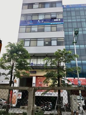 Chính chủ cho thuê tầng 4 tòa nhà văn phòng số 261 Phạm Văn Đồng, Bắc Từ Liêm, Hà Nội.