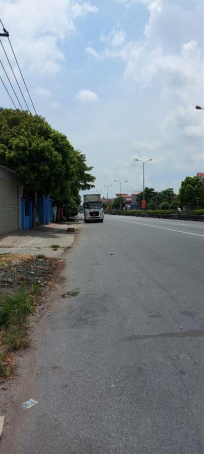 Bán ngay 115m2 đất mặt đường quốc lộ 5 Minh Đức, Mỹ hào, Hưng Yên.