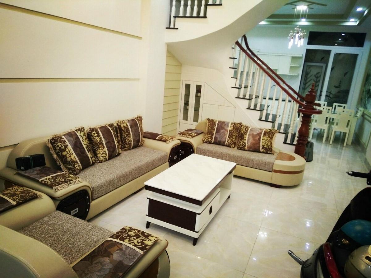 Cho thuê nhà đường Đồ Chiểu, P1 Vũng Tàu, 3 lầu đầy đủ nội thất