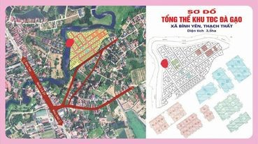 Bán gấp đất nền khu tái định cư Hòa Lạc