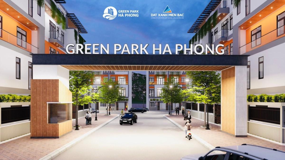 Hà Phong  Green Park-  Nhà phố thương mại