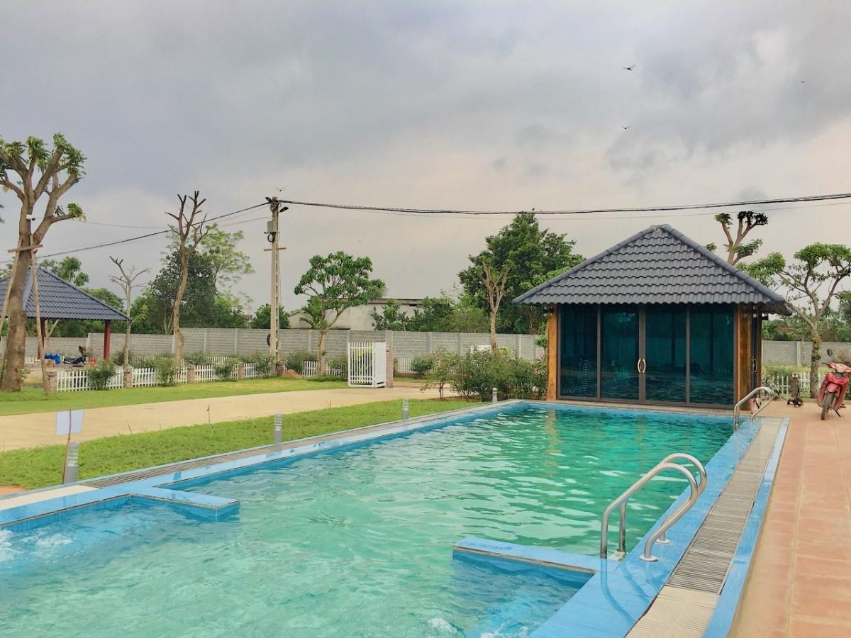 Bán đất nghỉ dưỡng tại Lương Sơn, Hòa Bình sẵn khuôn viên biệt thự