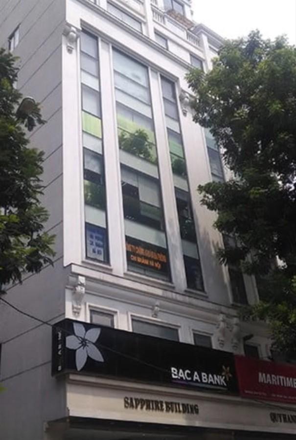 Cần bán sàn văn phòng tòa nhà Sapphire Palace số 4 Chính Kinh, Thanh Xuân