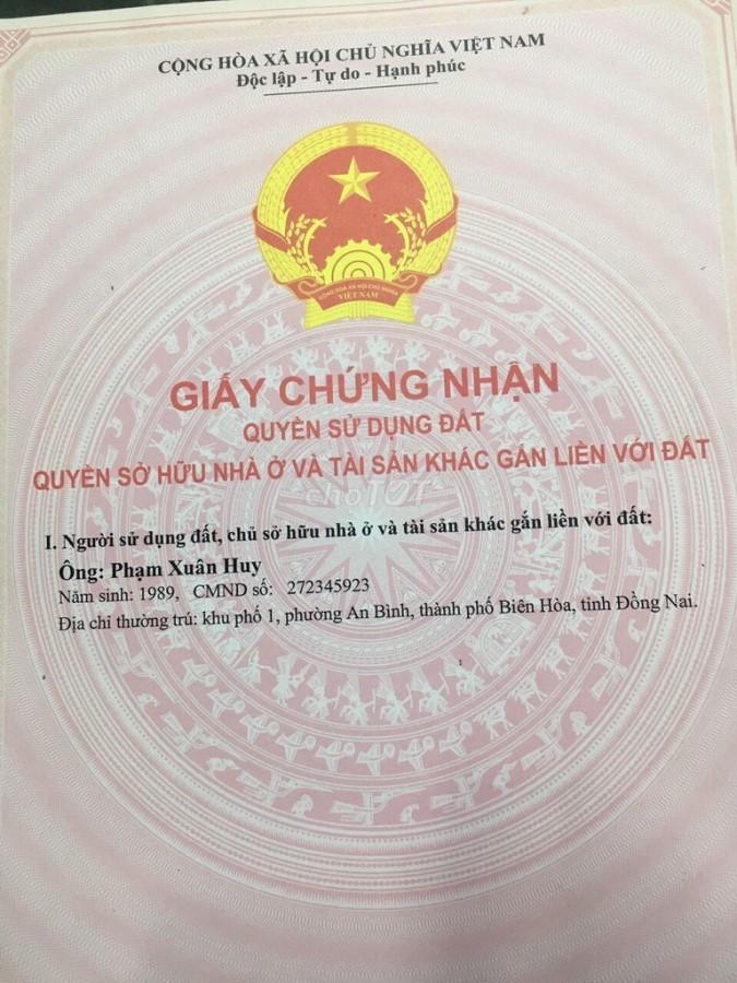 Bán đất chính chủ tại Ấp 1 xã Minh Thắng, huyện Chơn Thành Bình Phước.