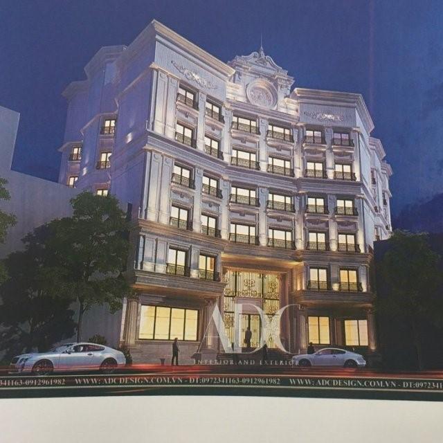 Bán tòa khách sạn 10 tầng khu Nguyễn Thị Định... GIÁ=220 tỷ