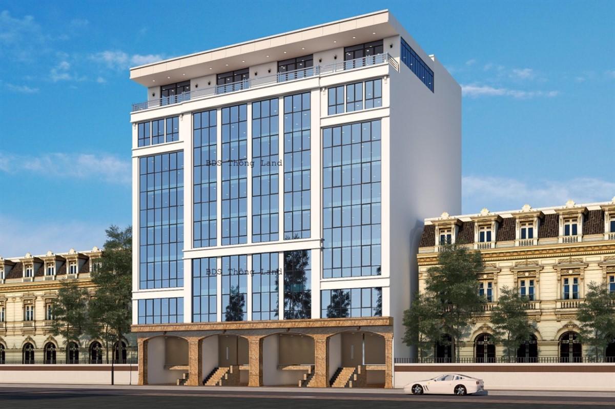 Bán tòa nhà Văn Phòng 8 tầng mặt phố Nguyễn Khang...GIÁ=45 tỷ