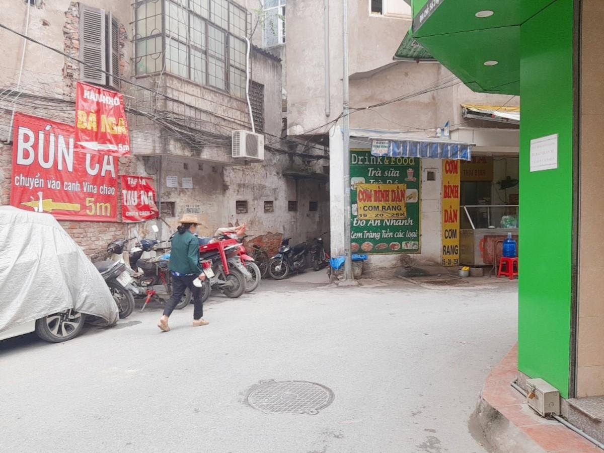 BÁN ĐẤT BIẾU NHÀ ngõ ÔTÔ 1,25 TẤN TRÁNH phố Minh Khai 12mx33m2; KINH DOANH ĐỈNH; nhỉnh 4 tỷ
