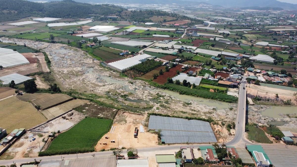 Bán Đất view sông Đa Nhim - Thị Trấn Thạnh Mỹ - Lâm Đồng
