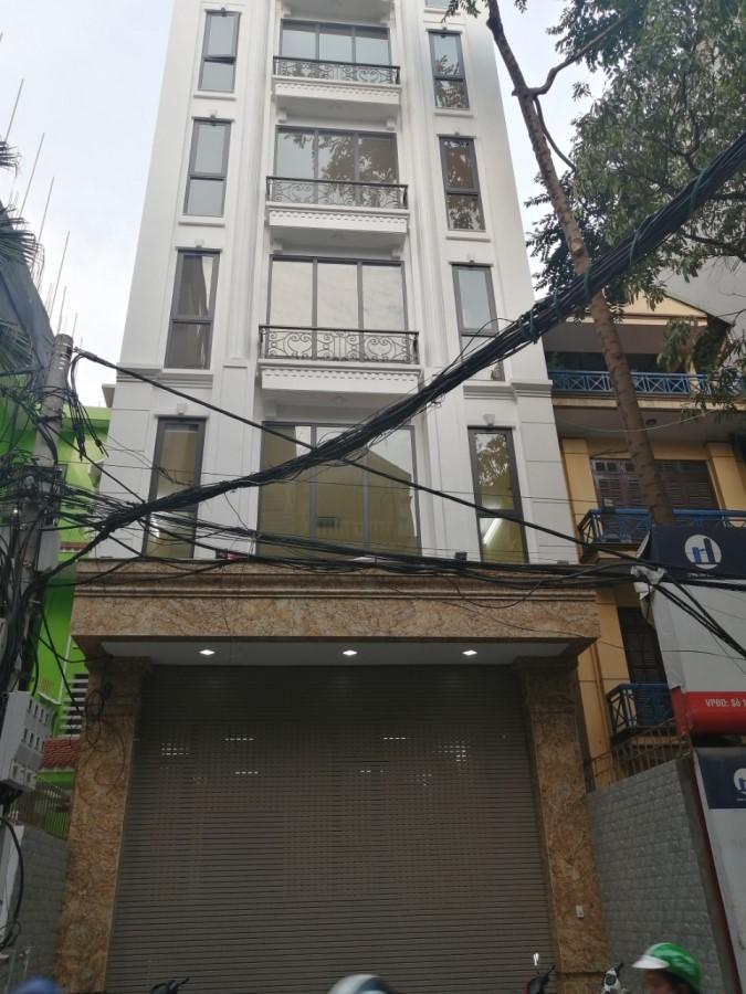 Bán nhanh toà nhà 9 tầng mặt phố Hoàng Văn Thái.....Giá:40 tỷ