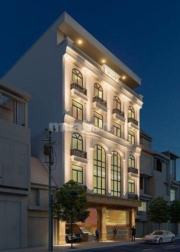 Bán toà văn phòng 9 tầng DT230m2 mặt phố Hoàng Ngân...Giá: 120 tỷ