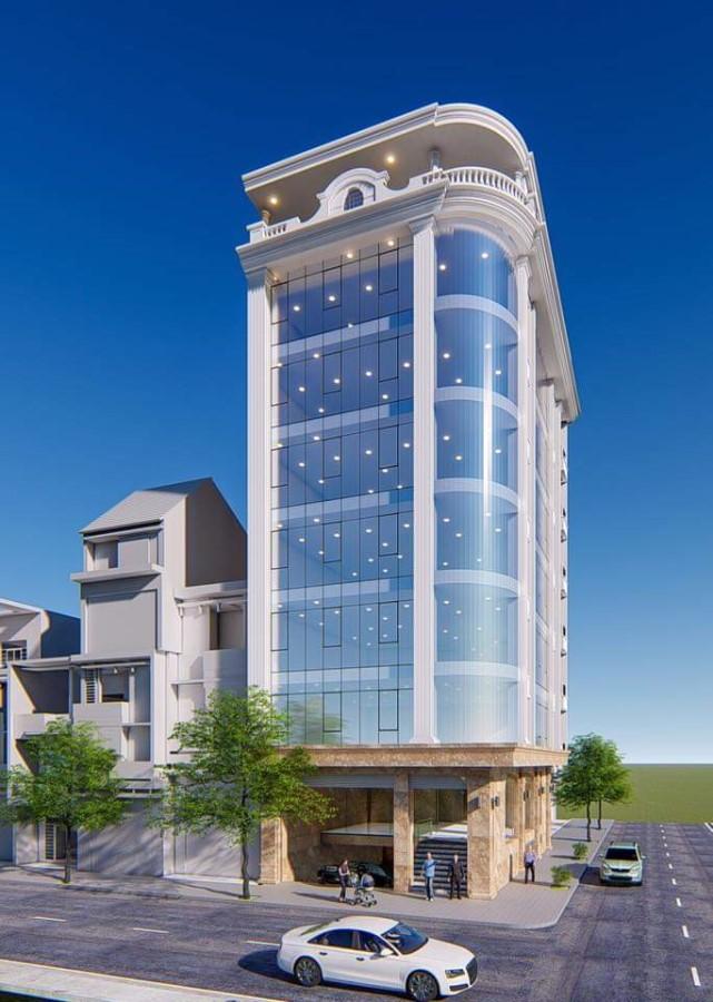 Bán tòa VP 9 tầng mặt phố Trần Vỹ - Lê Đức Thọ.. 46,5 tỷ