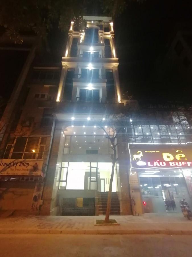 Bán toà văn phòng 9 tầng mặt phố Nguyễn Ngọc Nại...GIÁ=39 tỷ