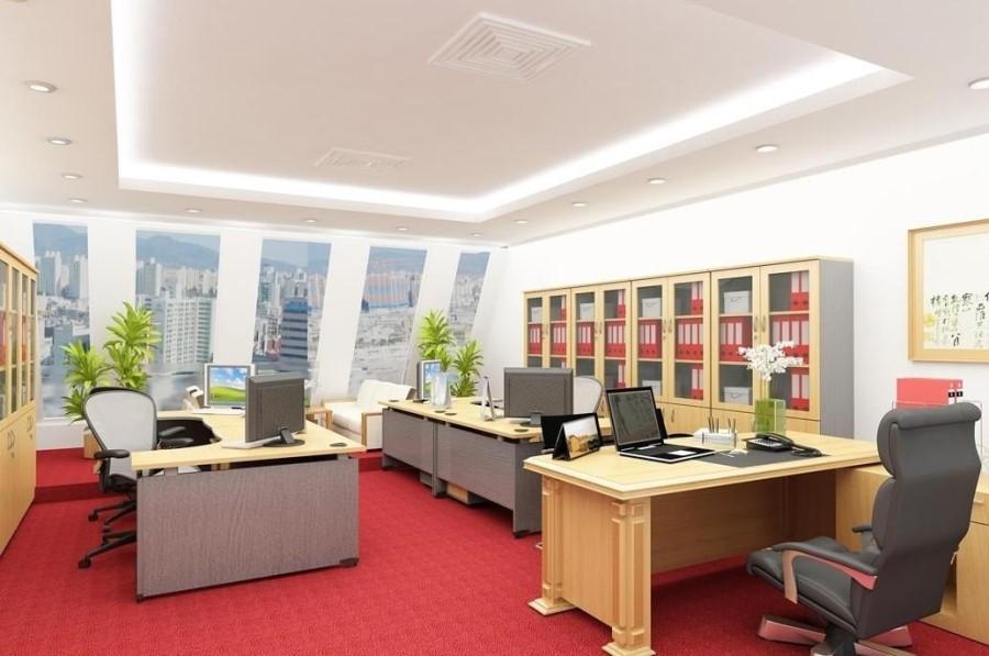 Văn phòng cho thuê không gian đẳng cấp_Thiết kế hiện đại 35m2 4tr/th.