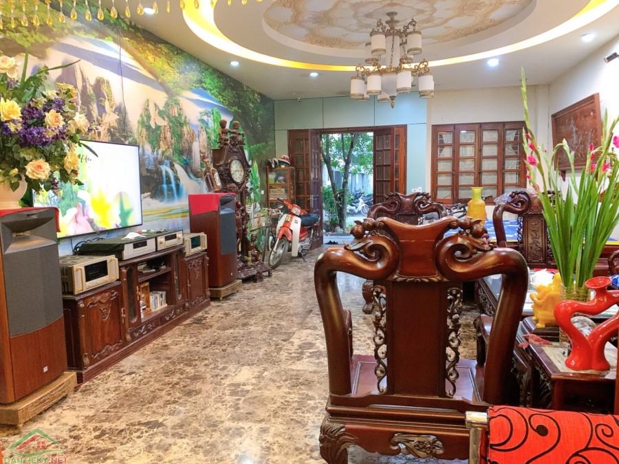 Bán Nhà Khu Phân Lô Tây Trà, Hoàng Mai, 130m*5T*MT6m, 21 tỷ, Lô Góc, Kinh Doanh, VIEW Hồ.