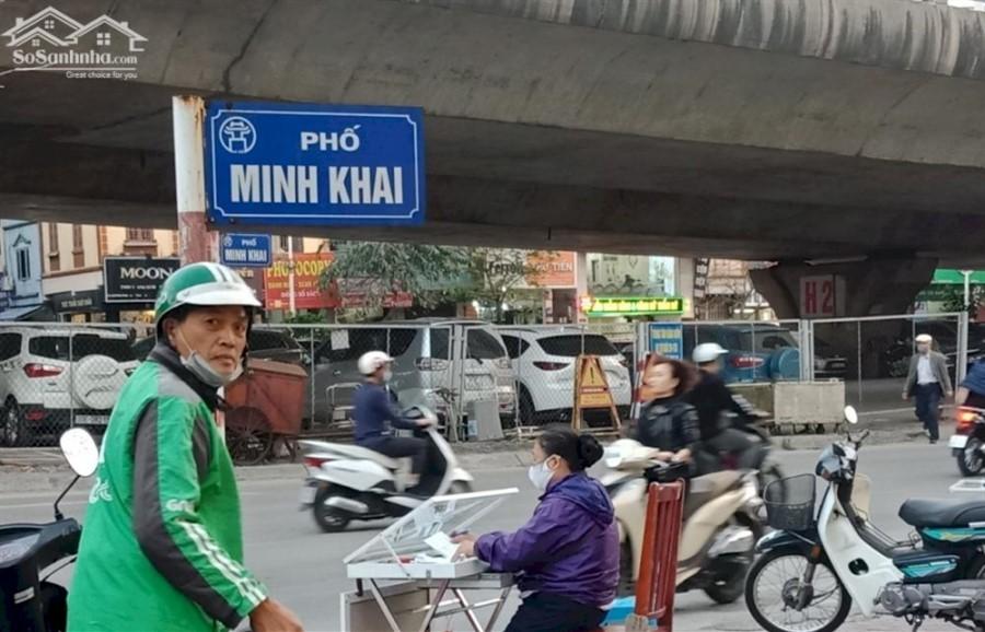 Hiếm, Bán nhà mặt phố Minh Khai, Hai Bà Trưng, 5 Tầng, KD đỉnh, 7 tỷ, 0877771009