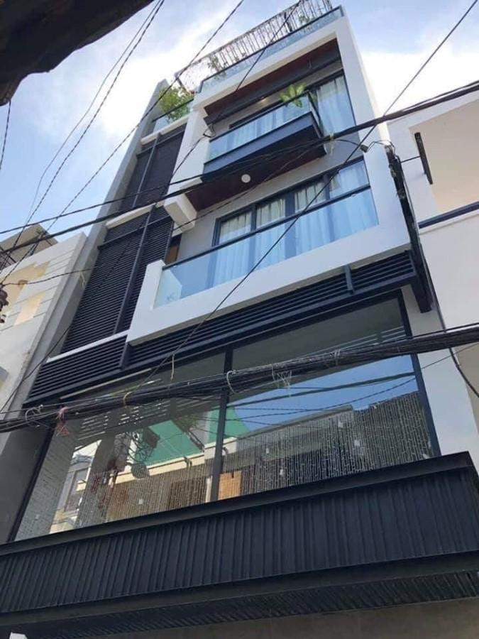 Nhà đẹp 5 tầng 79m2, 7PN, HXH 8m Lý Thường Kiệt thông 3/2, Thành Thái, CX Lữ Gia