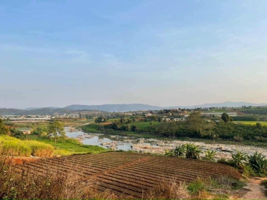 Bán 500m2 view sông Đa Nhim cực đẹp