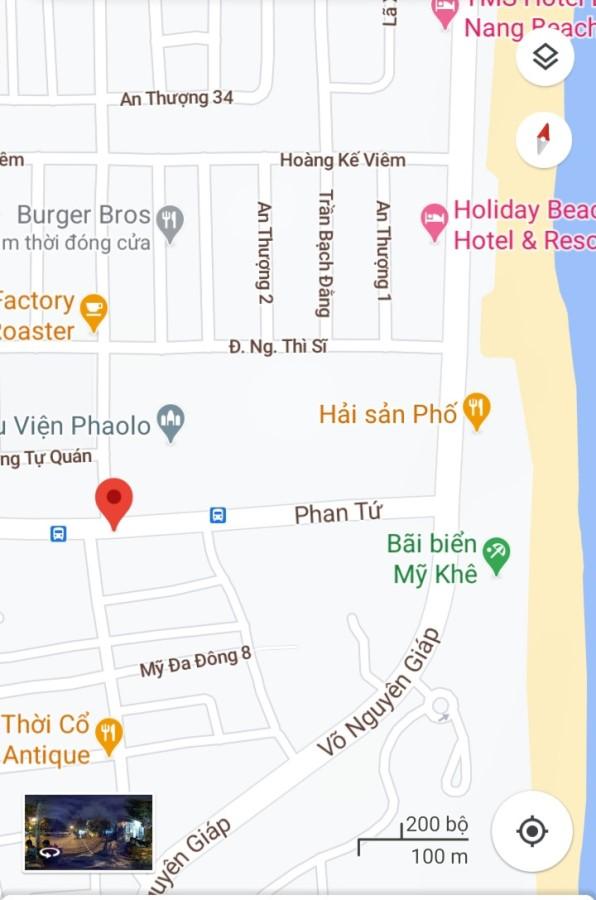 Bán đất 2 mặt tiền đường Phan Tứ - Ngũ Hành Sơn - Đà Nẵng Dt: 299m2 (12x25)m