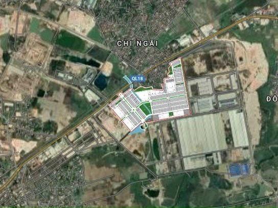 bán đất nền dự án khu đô thị mới phía Đông Thành Phố Chí Linh, Hải Dương. Giá ưu đãi từ CĐT