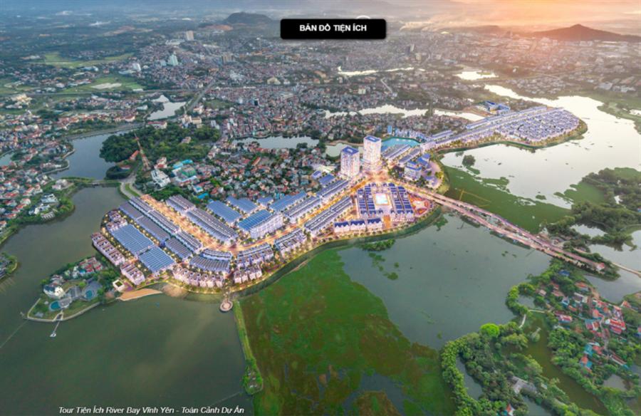 Chính thức mở bán dự án khu đô thị Bắc Đầm Vạc Vĩnh yên - KĐT được bao quanh hồ nước đẹp nhất