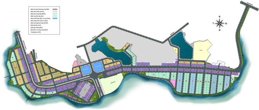 Mở bán đợt 1 dự án River Bay Vĩnh Yên - khu đô thị sinh thái Bắc Đầm Vạc