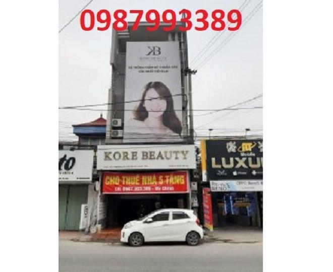 Chính chủ cho thuê tòa nhà 5 tầng vị trí đẹp ở Yên Mỹ, Hưng Yên, 0987993389