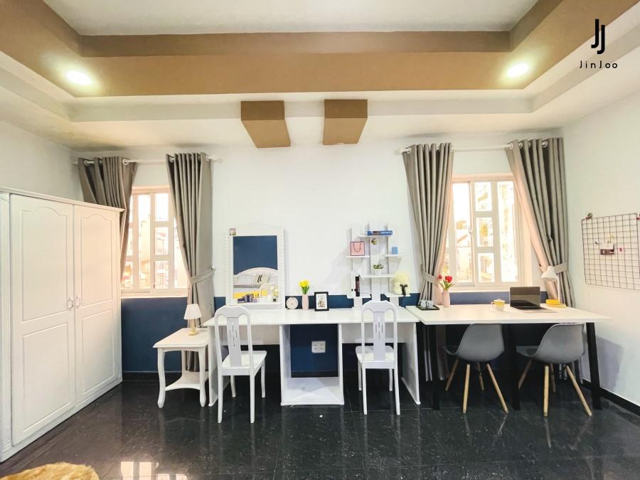 JINJOO HOME - THUÊ PHÒNG QUẬN 1 FULL NỘI THẤT - MIỄN TIỀN ĐẶT CỌC - DỌN VÀO Ở NGAY
