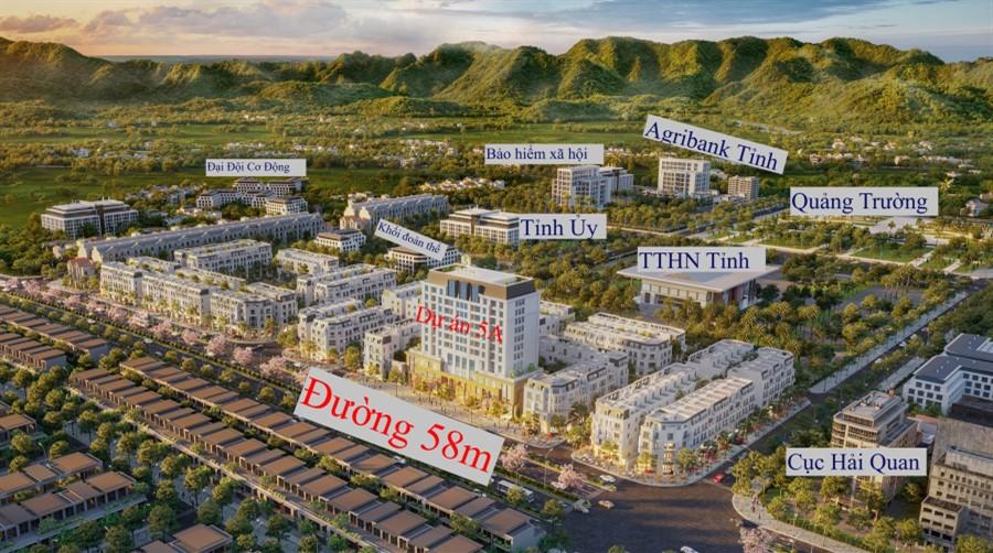 Bán nhà 5 tầng tại quảng trường km5, thành phố Cao Bằng